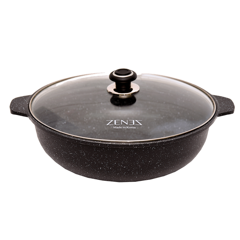 Zenez 36cm Cooking Wok