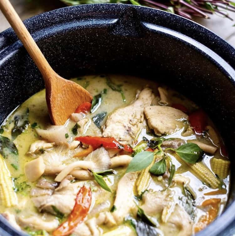 Thai Green Curry Recipe by Jen Jen