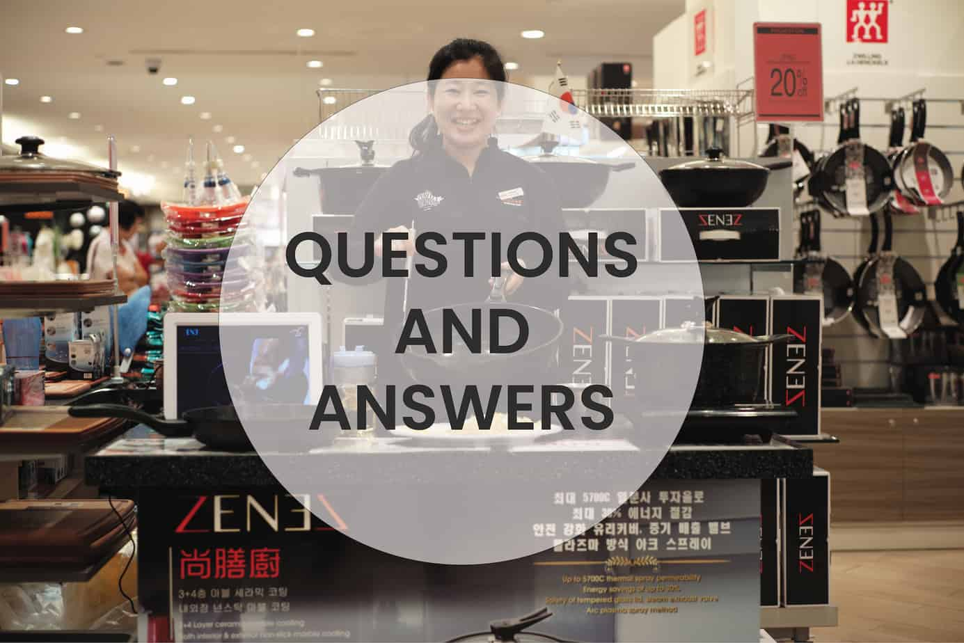 Frequently Asked Questions Regarding Zenez Cooking Wok - QNA