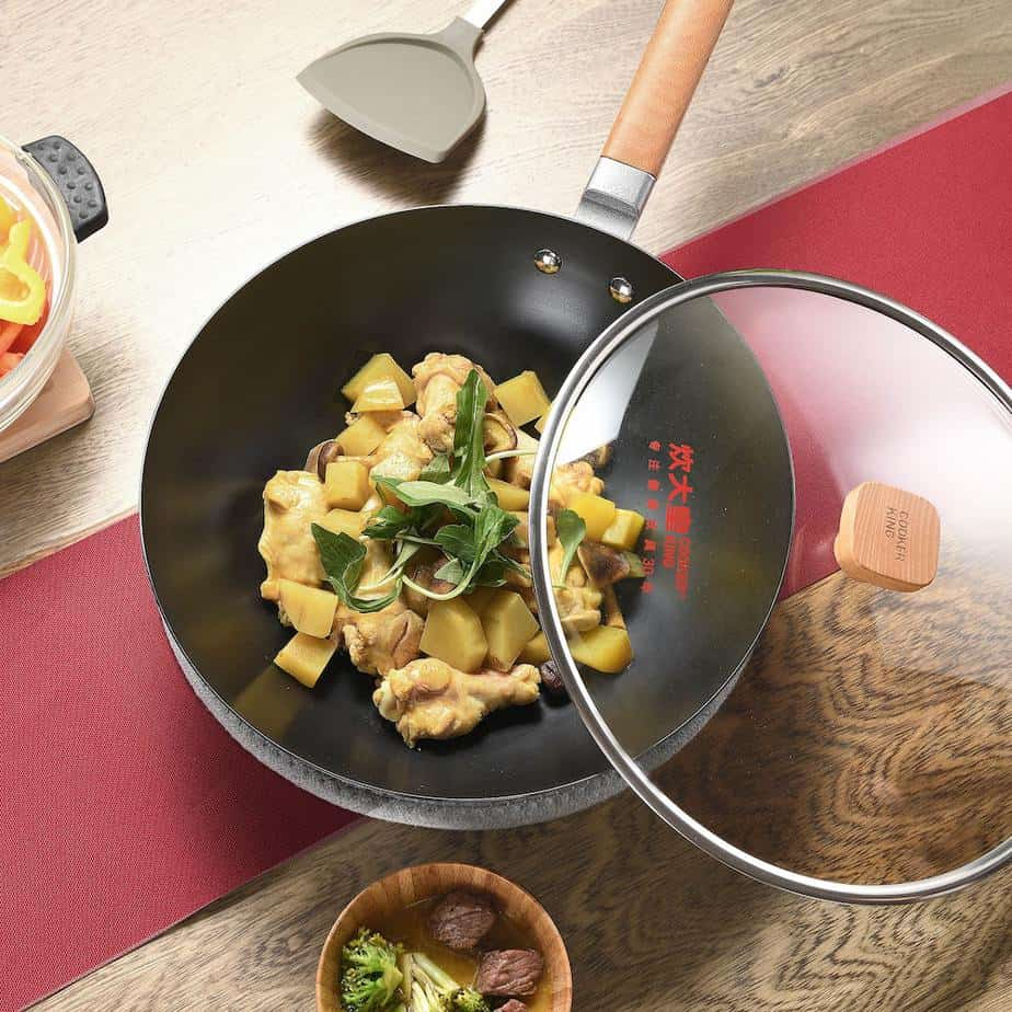 The Ultimate Guide To Choosing The Right Cooking Wok. Lids. V-Care
